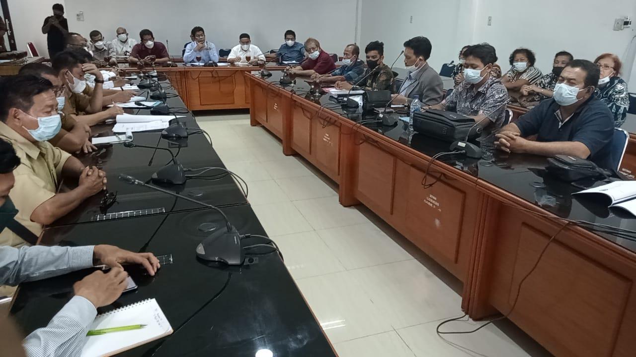 Komisi I DPRD Deliserdang Gelar RDP Terkait Tapal Batas Desa Rumah Sumbul dan Batu Layang