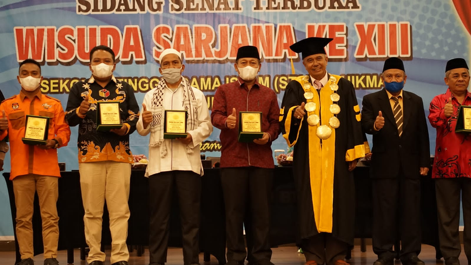 Kampus STAI Al-Hikmah Tanjungbalai Gelar Wisuda ke XIII, Plt Walikota Minta Tingkatkan Kualitas dan Kuantitas