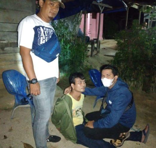 Duduk di Pakter Tuak Sambil Edarkan Ganja, Pria Warga Kampung Jawa Dibekuk Polisi